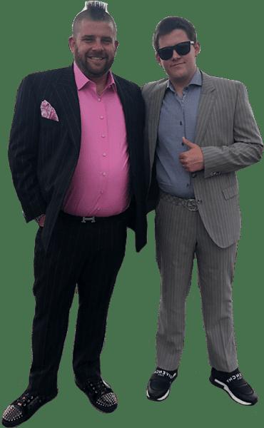 Adam & Mathew Schickedanz